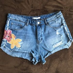 Zara Jean/Denim Shorts